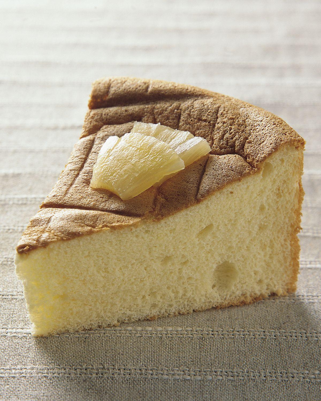 食譜:菠蘿戚風蛋糕