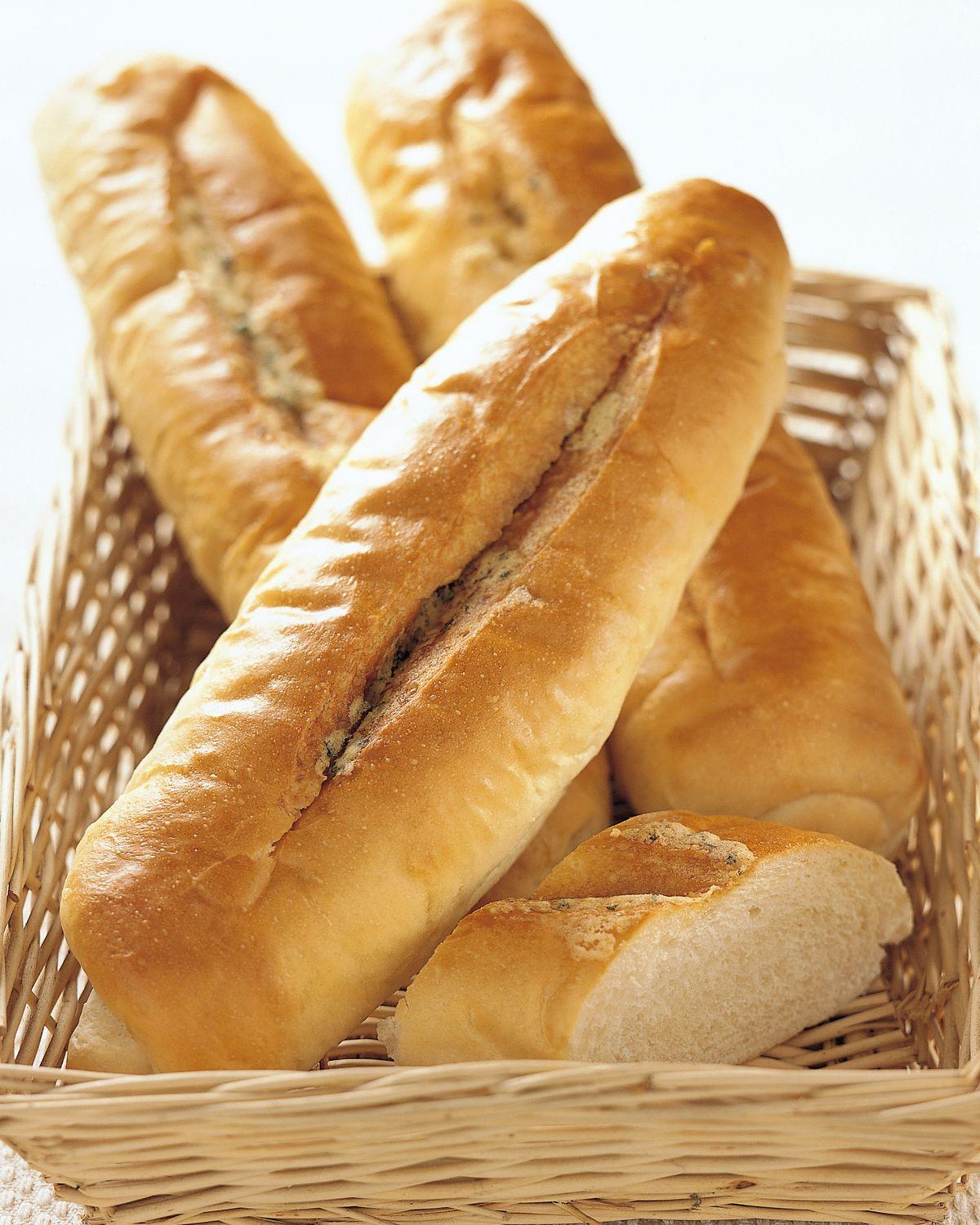 食譜:大蒜麵包