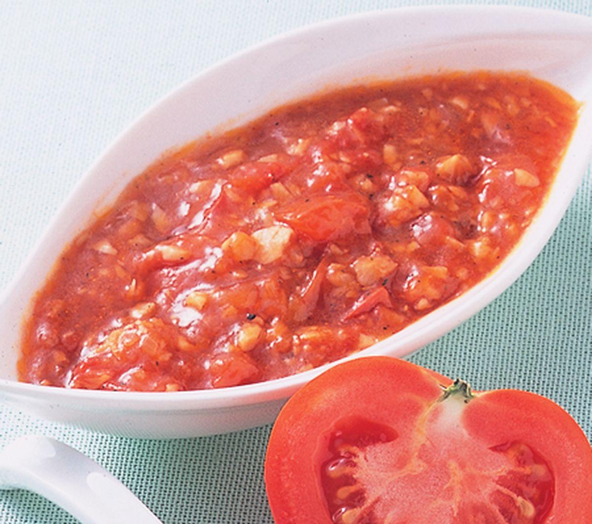 食譜:香蒜蕃茄醬