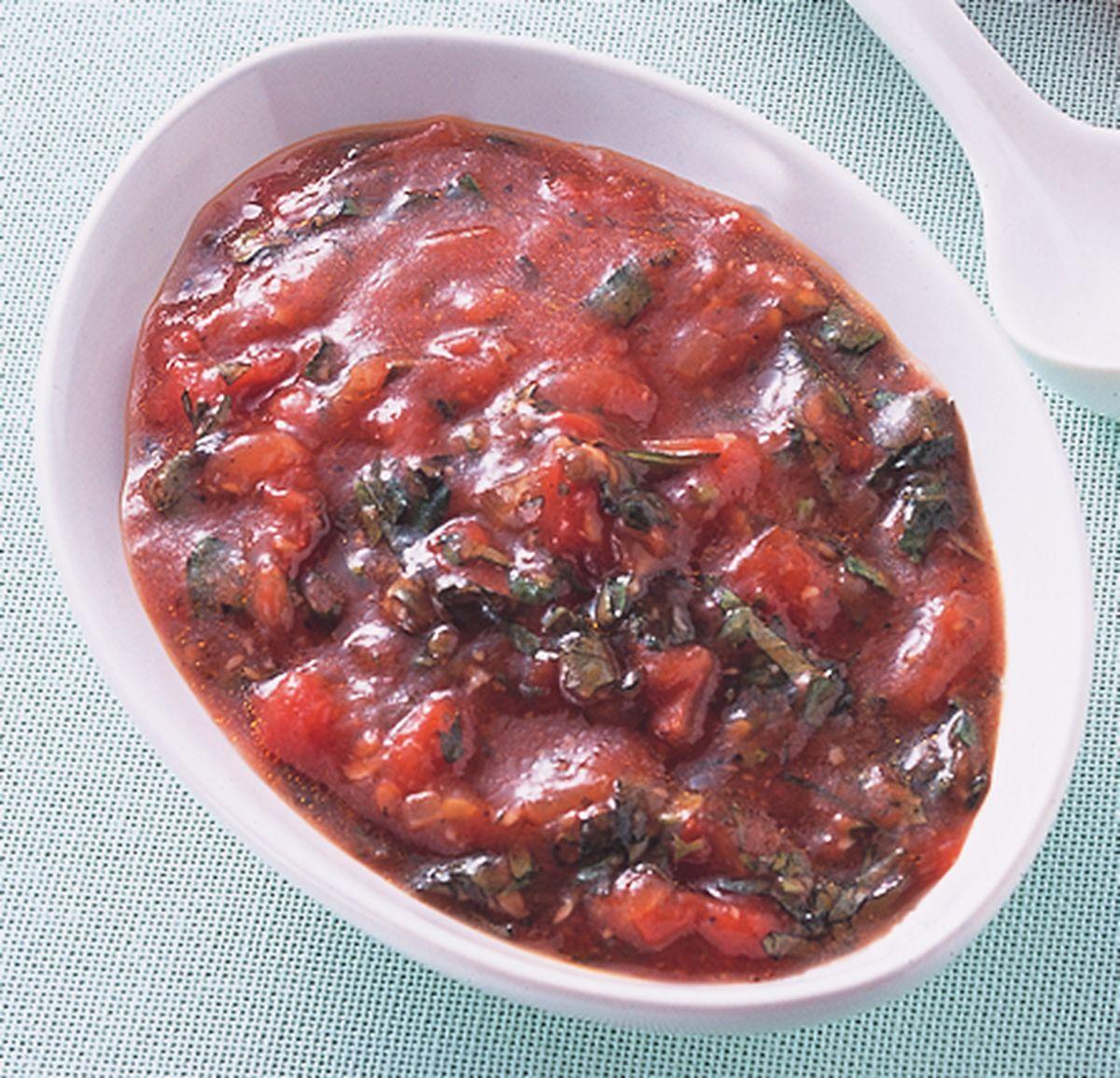 食譜:蕃茄羅勒醬