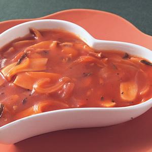 鮑魚菇蕃茄醬