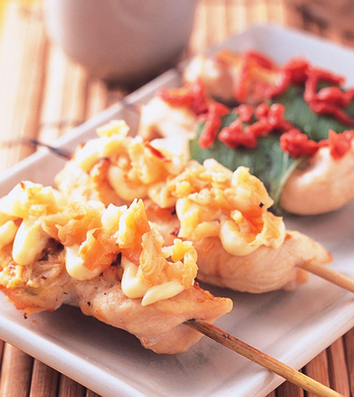 食譜:雞柳泡菜串