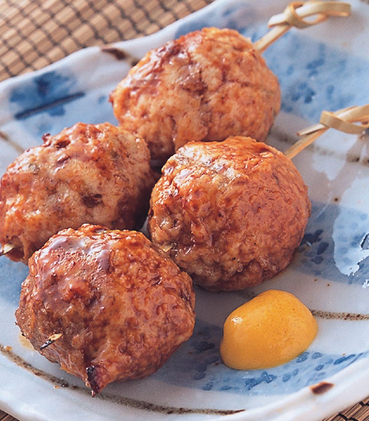 食譜:串烤雞肉丸子