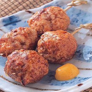串烤雞肉丸子