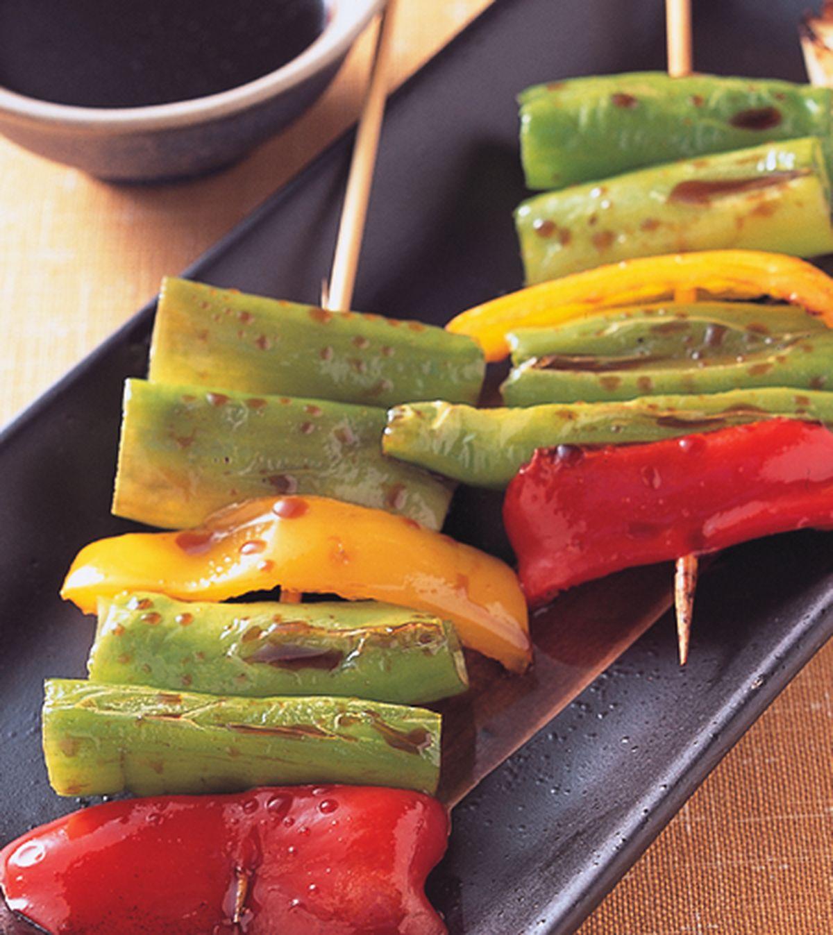食譜:串烤甜辣椒