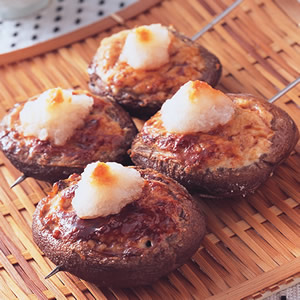 串烤香菇串