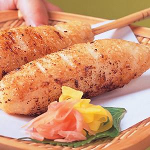 日式串烤飯糰