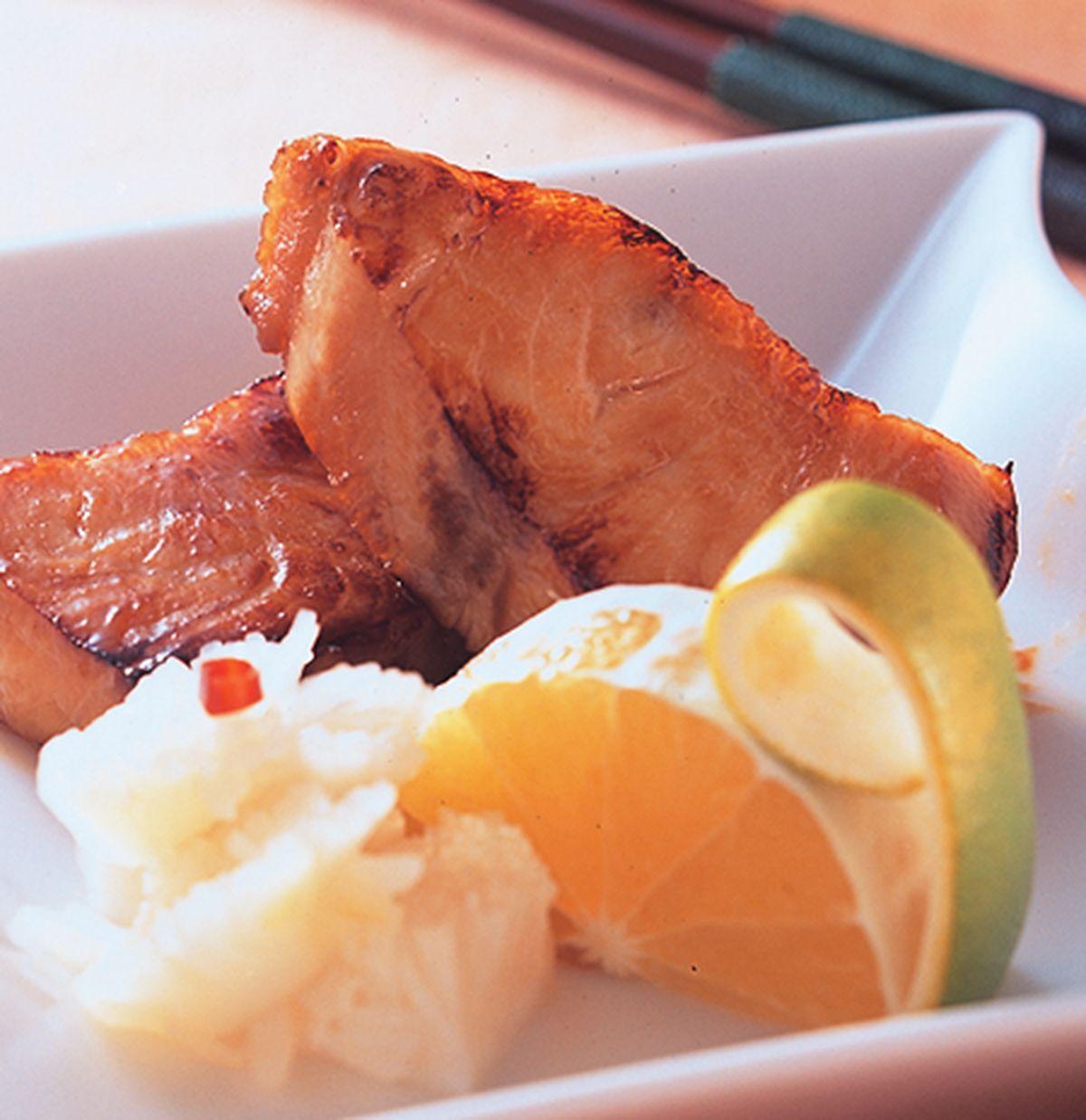 食譜:海鱺魚柚庵燒