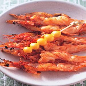 鮮蝦鬼殼燒