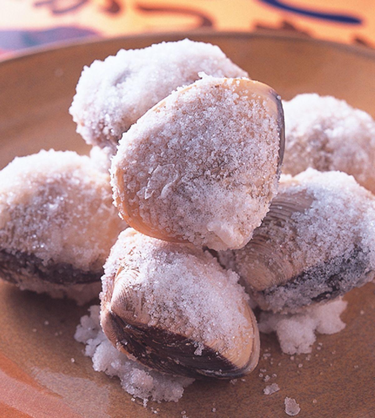 食譜:鹽燒蛤蠣