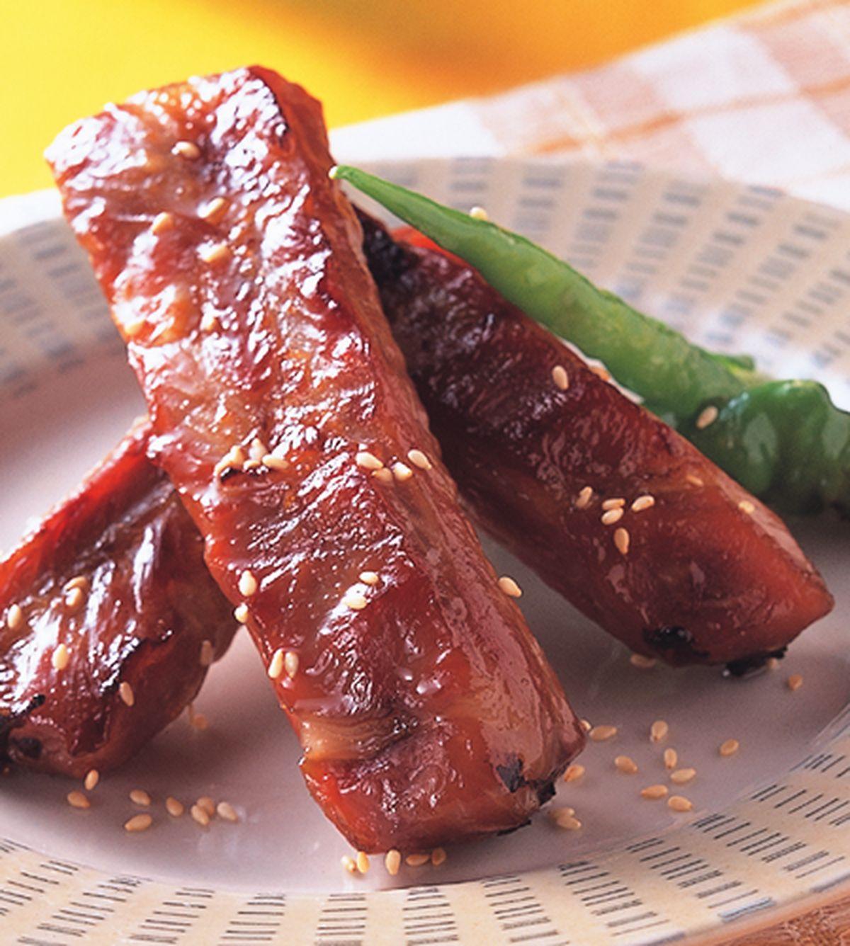 食譜:豬肋味噌燒