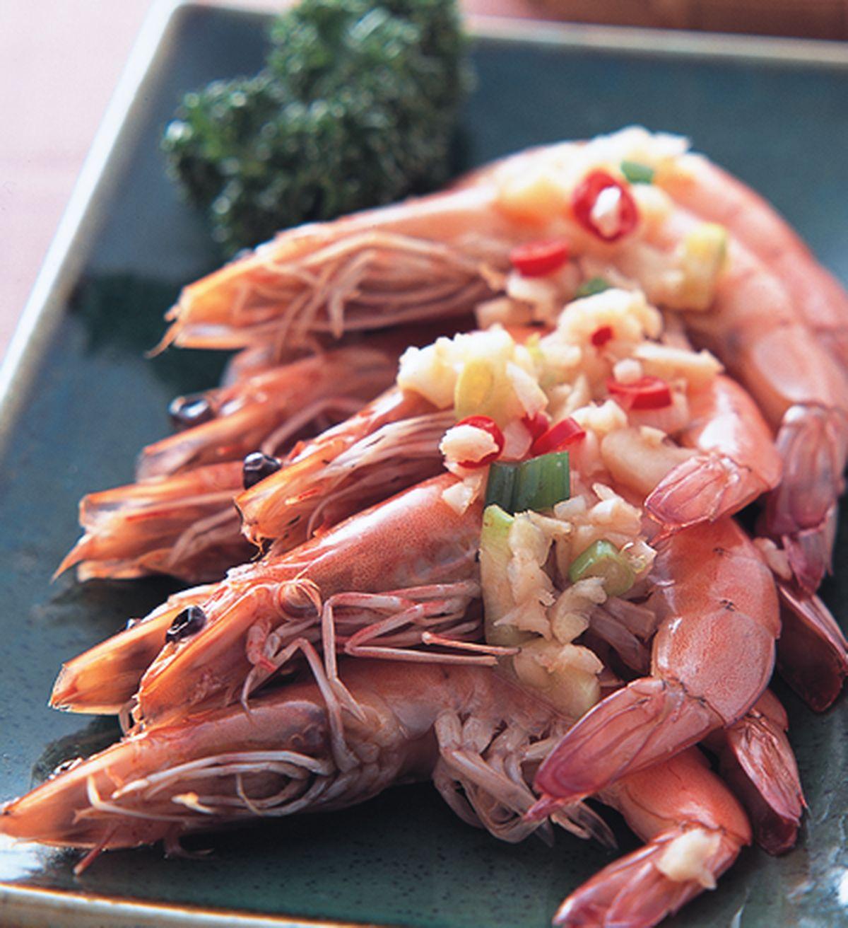 食譜:蒜蓉蝦