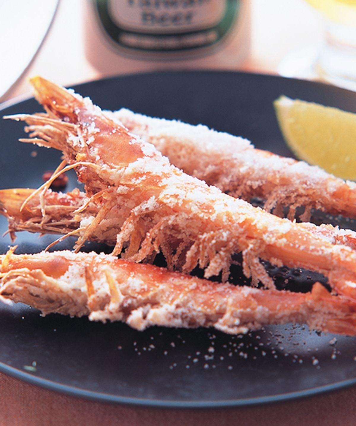 食譜:鹽烤蝦