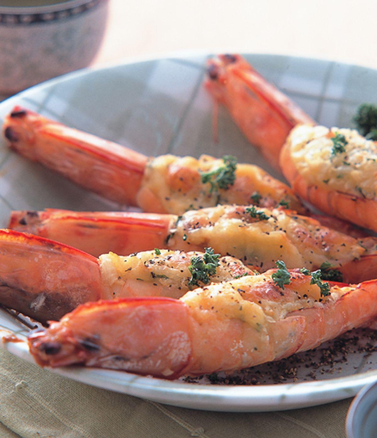 食譜:焗烤蝦