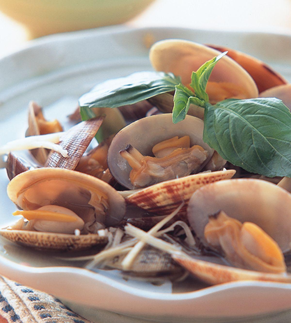 食譜:薑蒜文蛤
