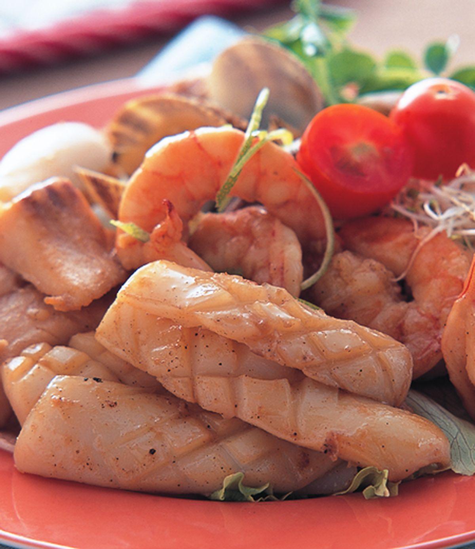 食譜:海鮮沙拉