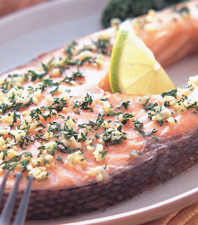 食譜:烤鮭魚