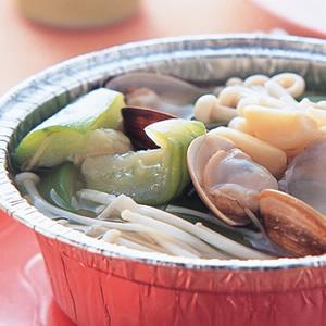 蛤蜊絲瓜(1)