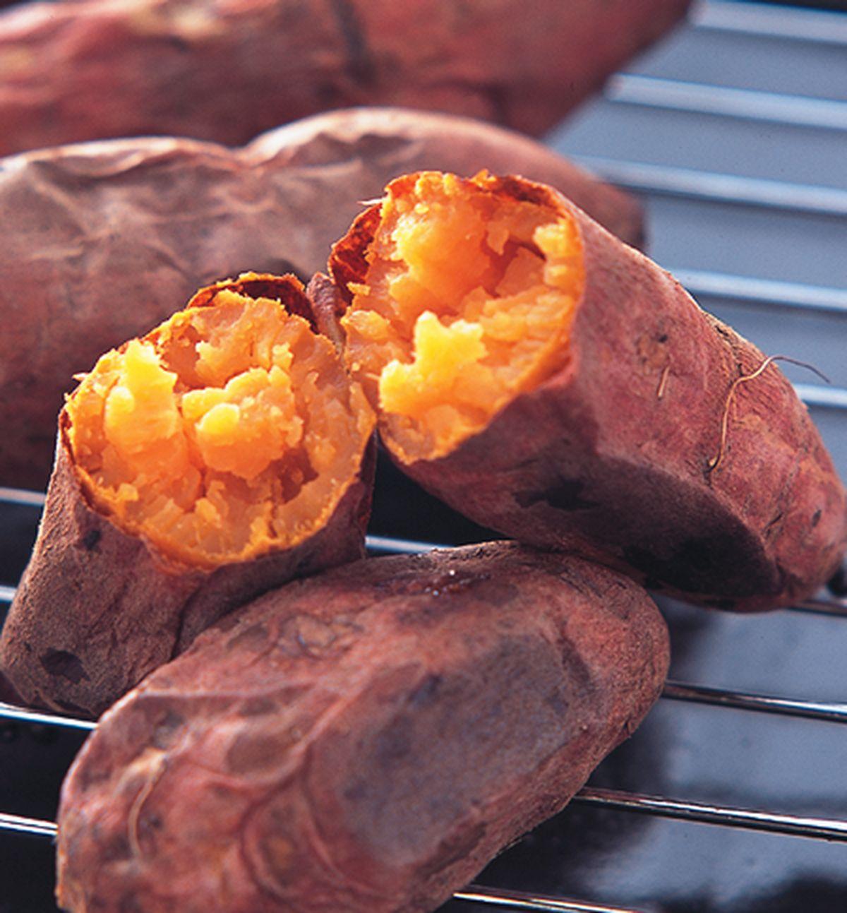 食譜:古早味烤蕃薯