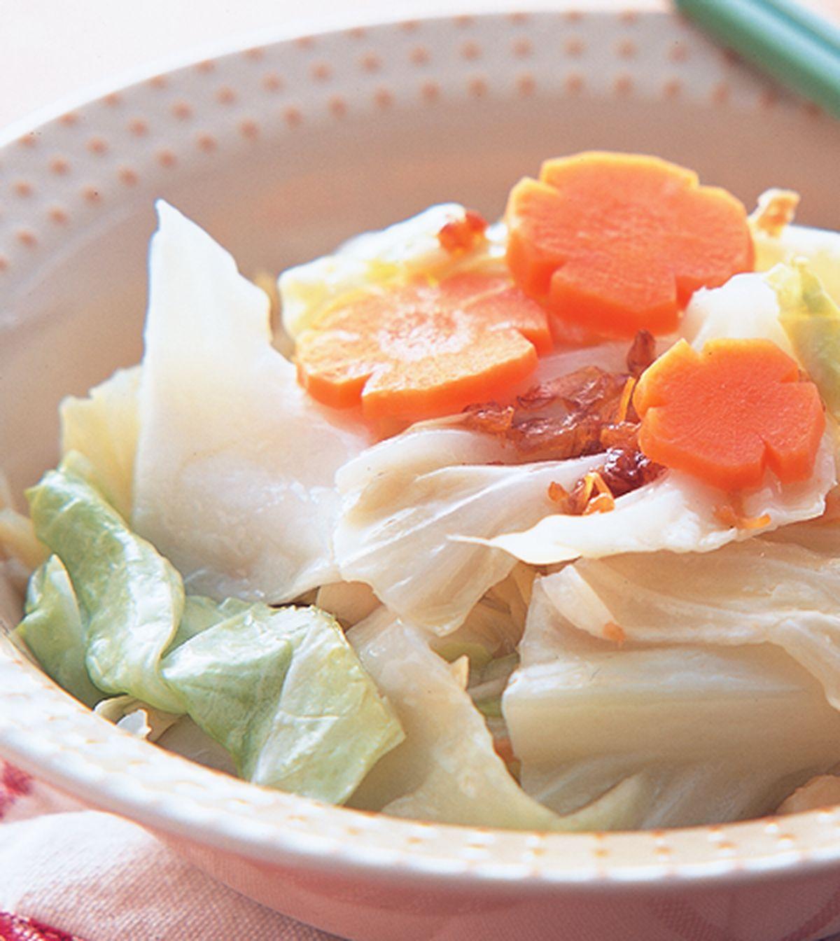 食譜:蒜味高麗菜