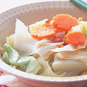 蒜味高麗菜