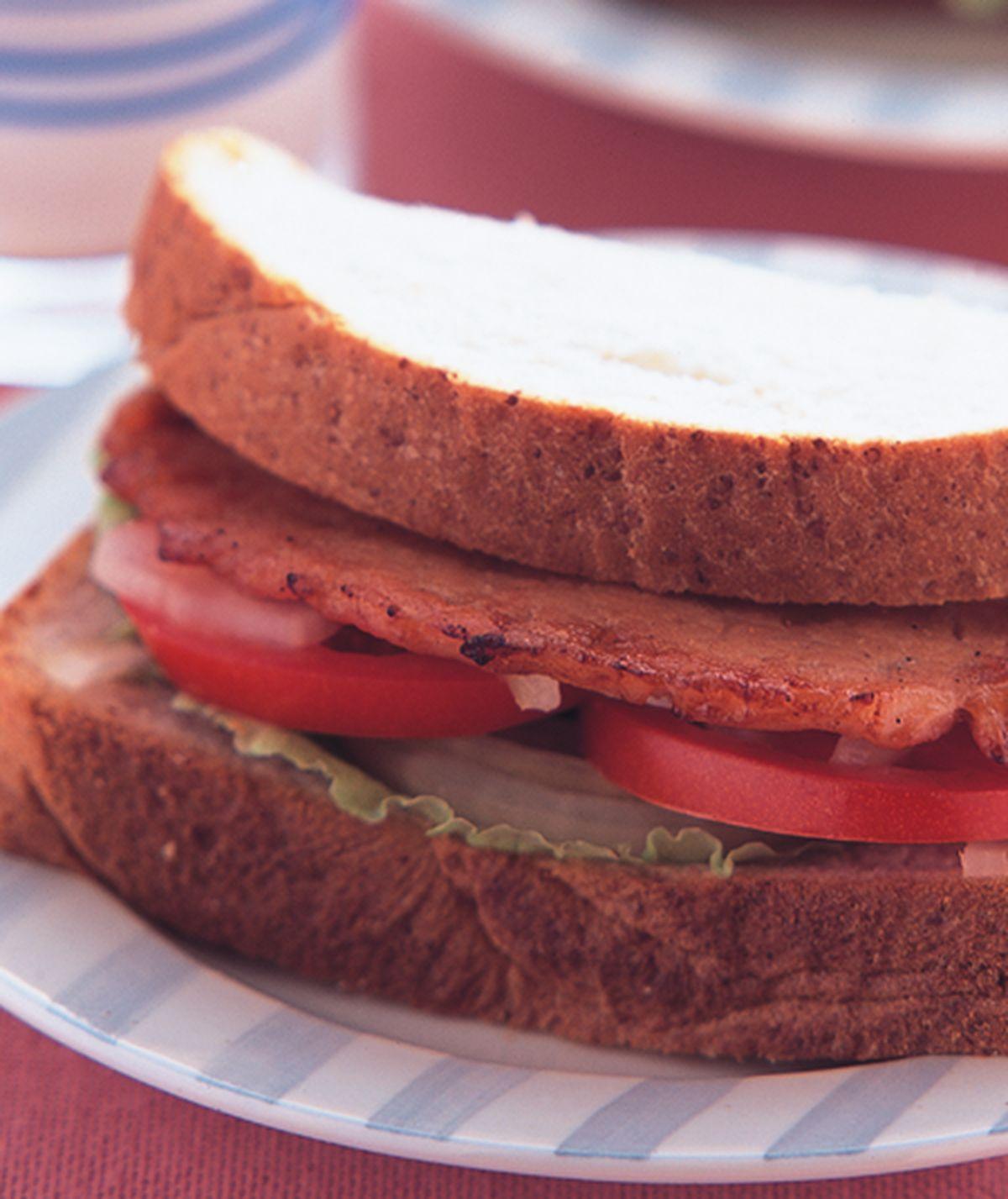 食譜:肉片三明治