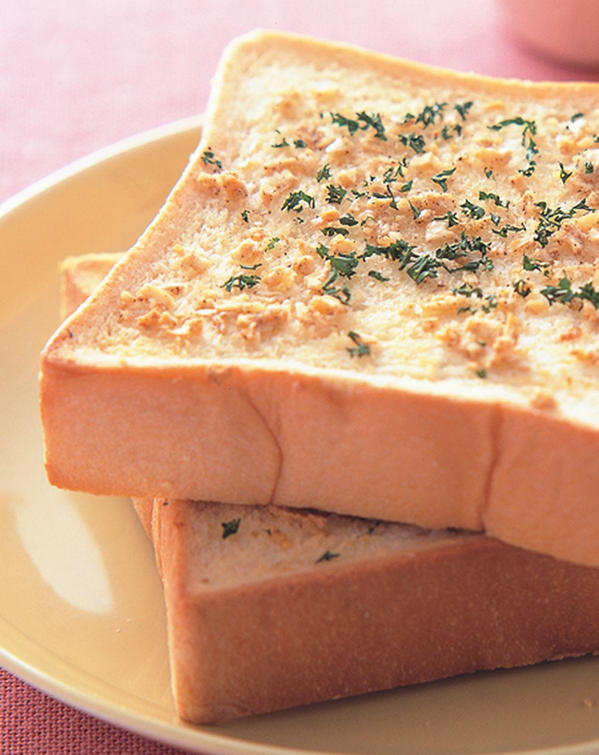 食譜:蒜香厚片