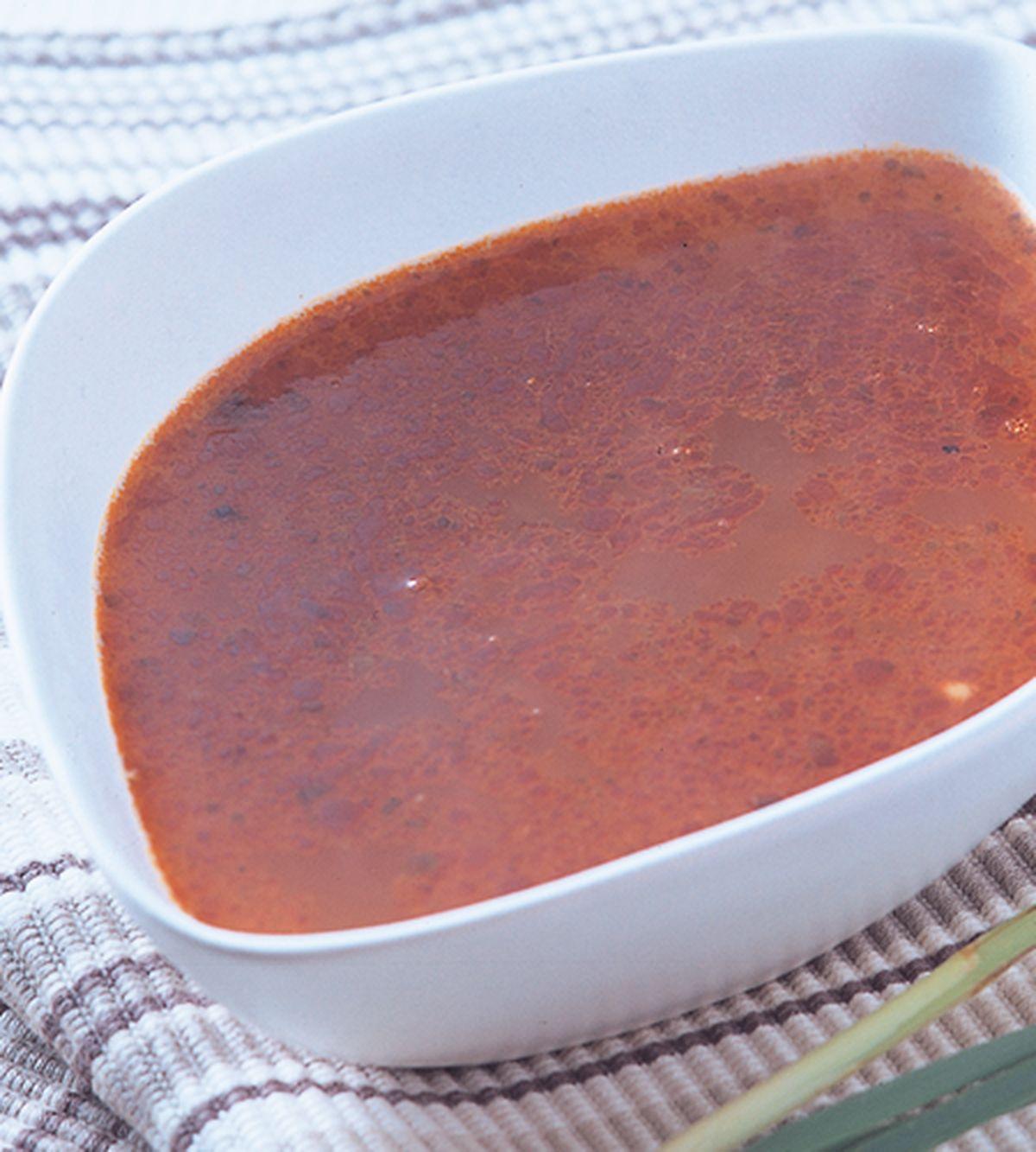 食譜:香茅湯底