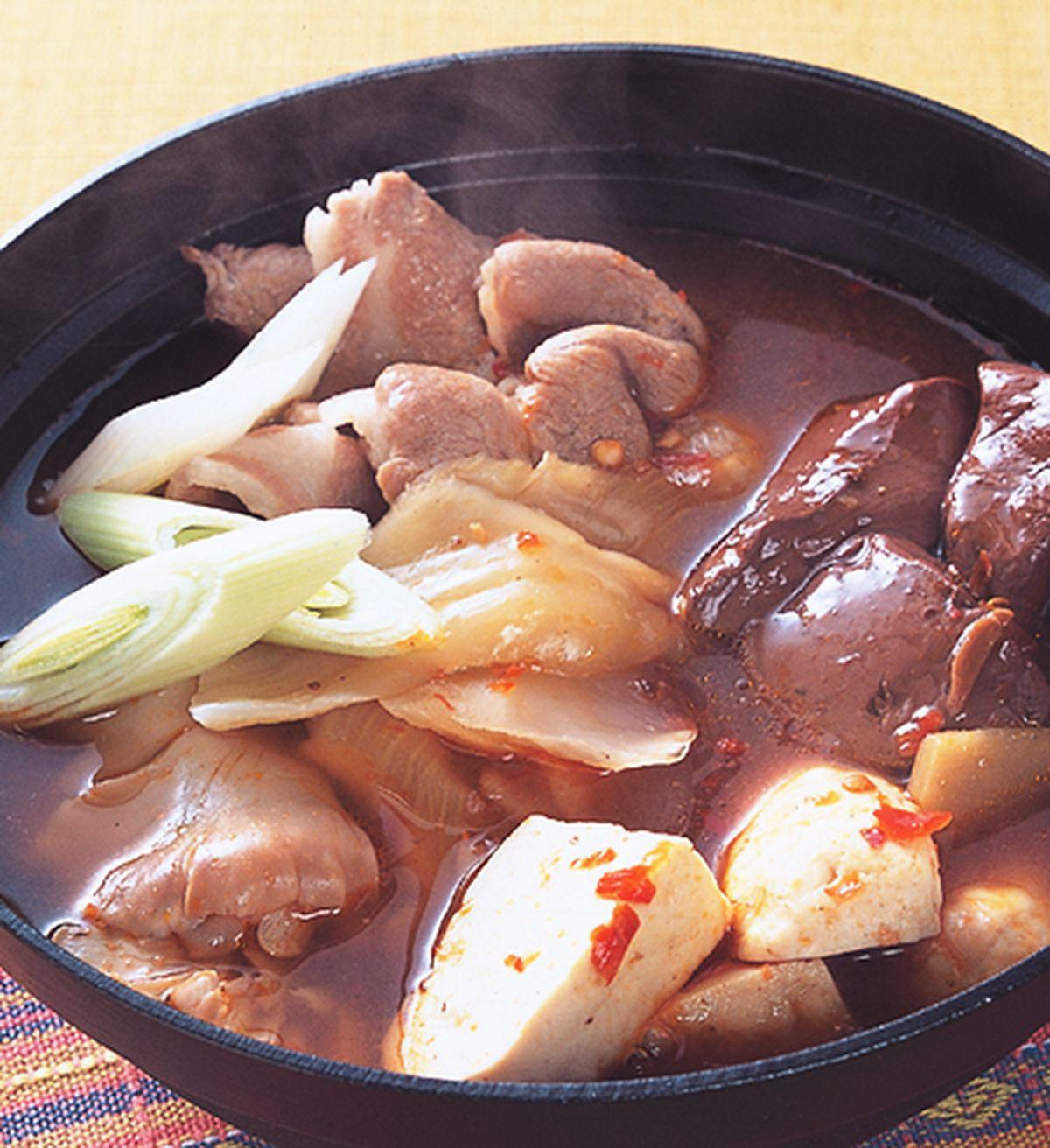 食譜:酸菜鴨血鍋