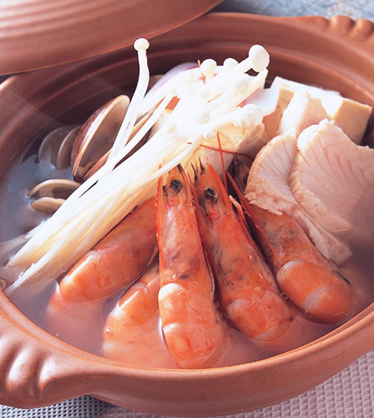 食譜:海鮮豆腐鍋