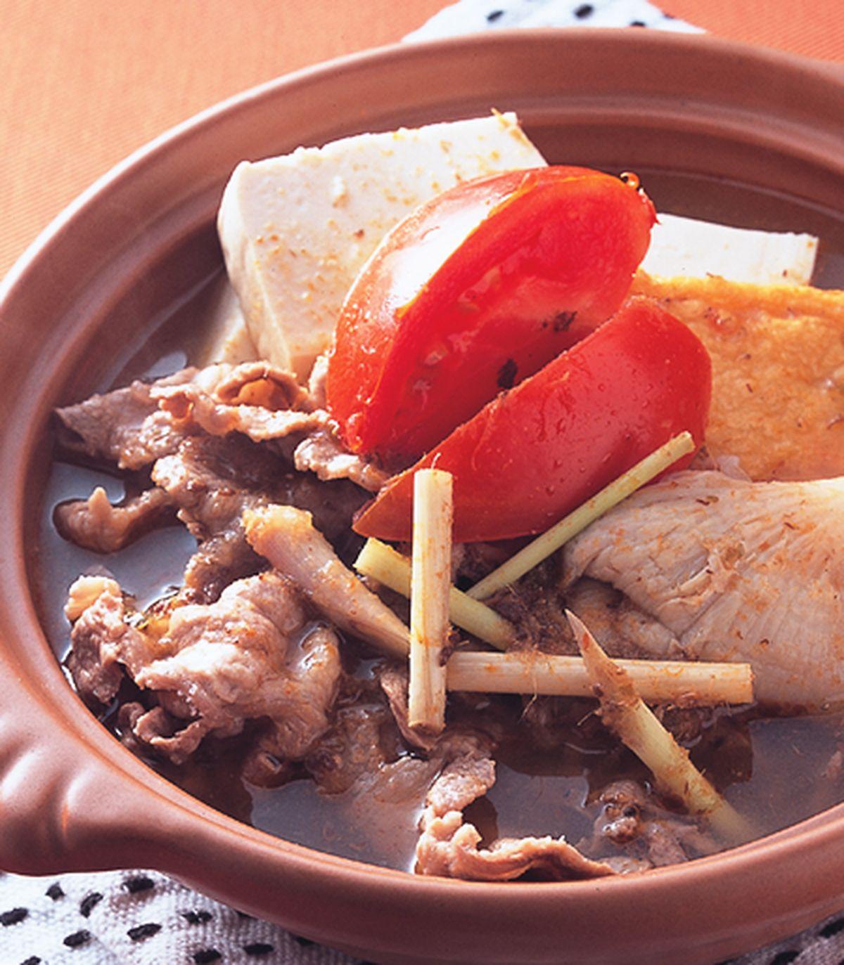 食譜:香茅羊肉鍋