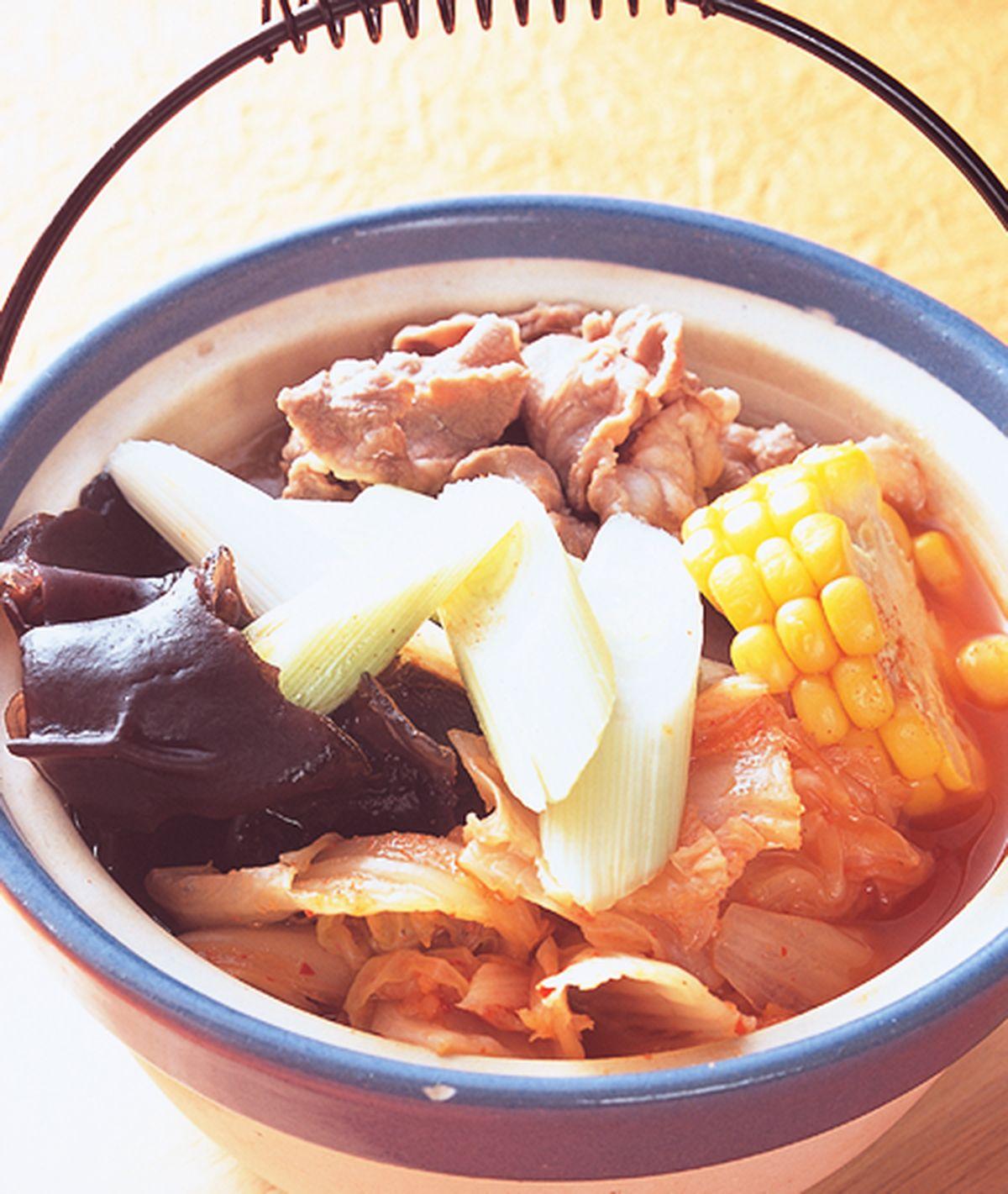 食譜:泡菜羊肉鍋