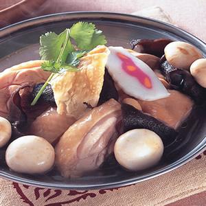 腐皮嫩雞鍋