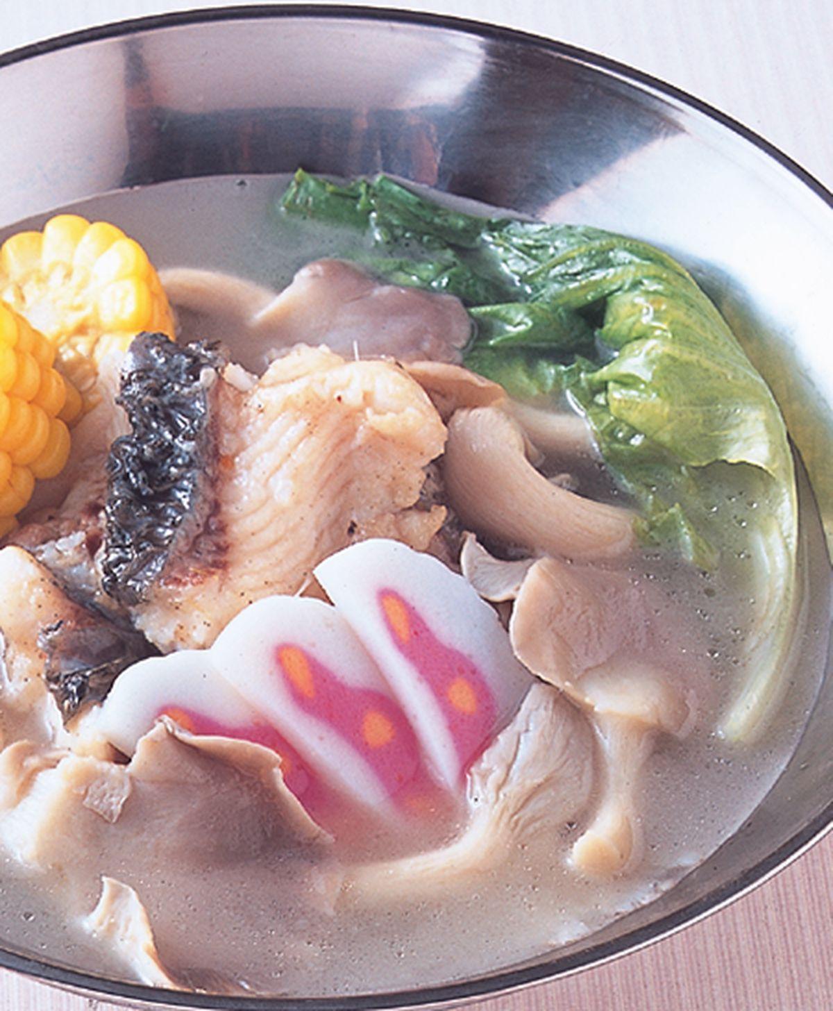 食譜:鮮魚鮑菇鍋