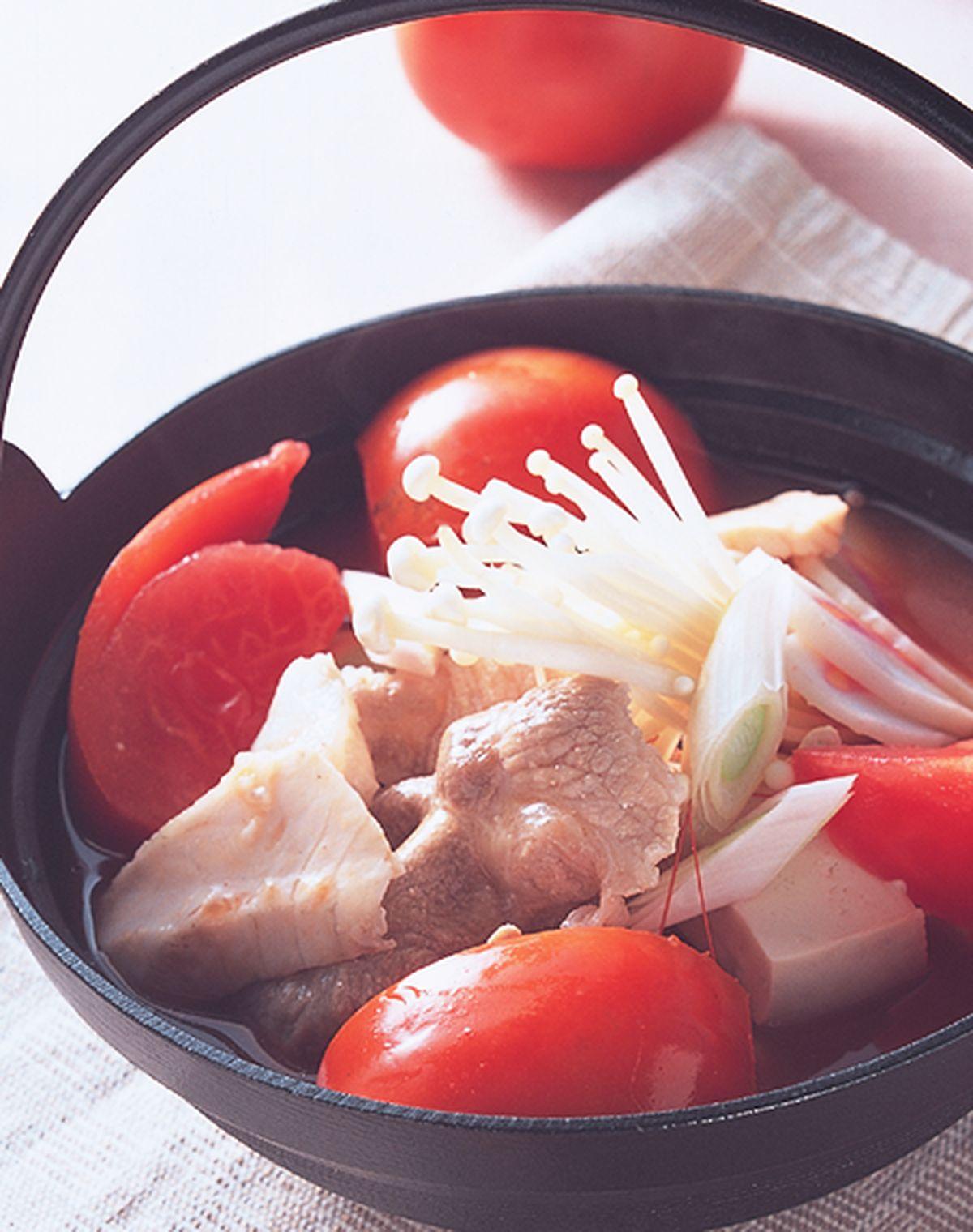 食譜:蕃茄什錦鍋