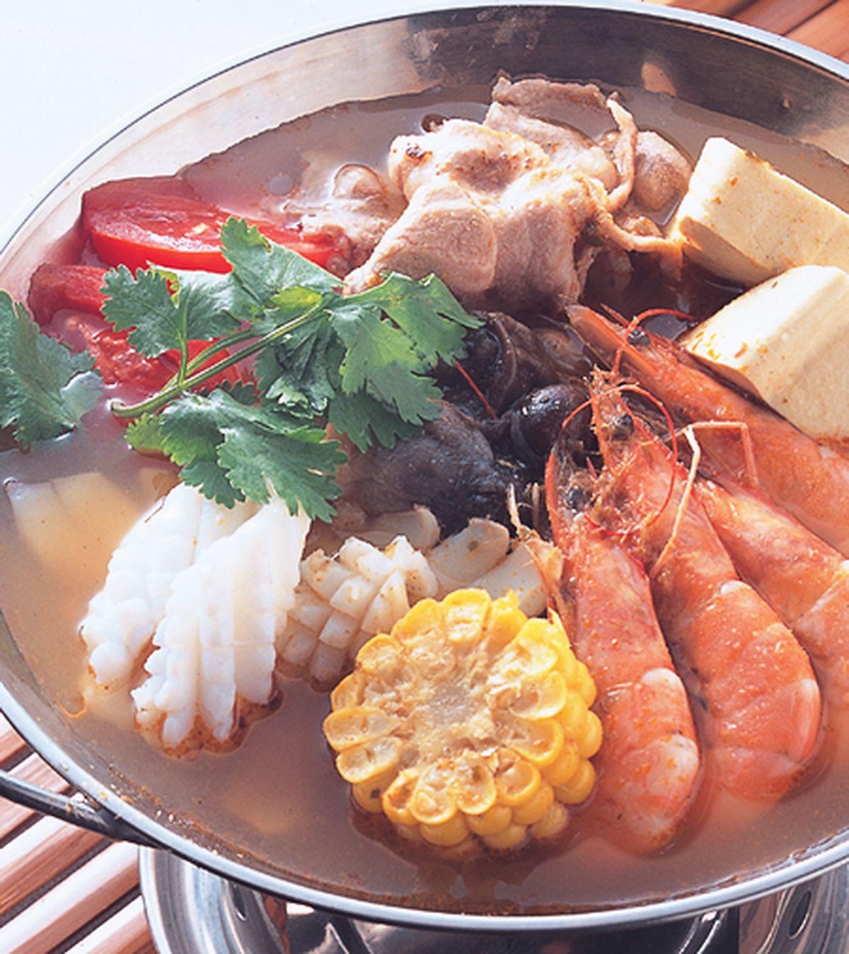 食譜:泰式酸辣鍋(1)