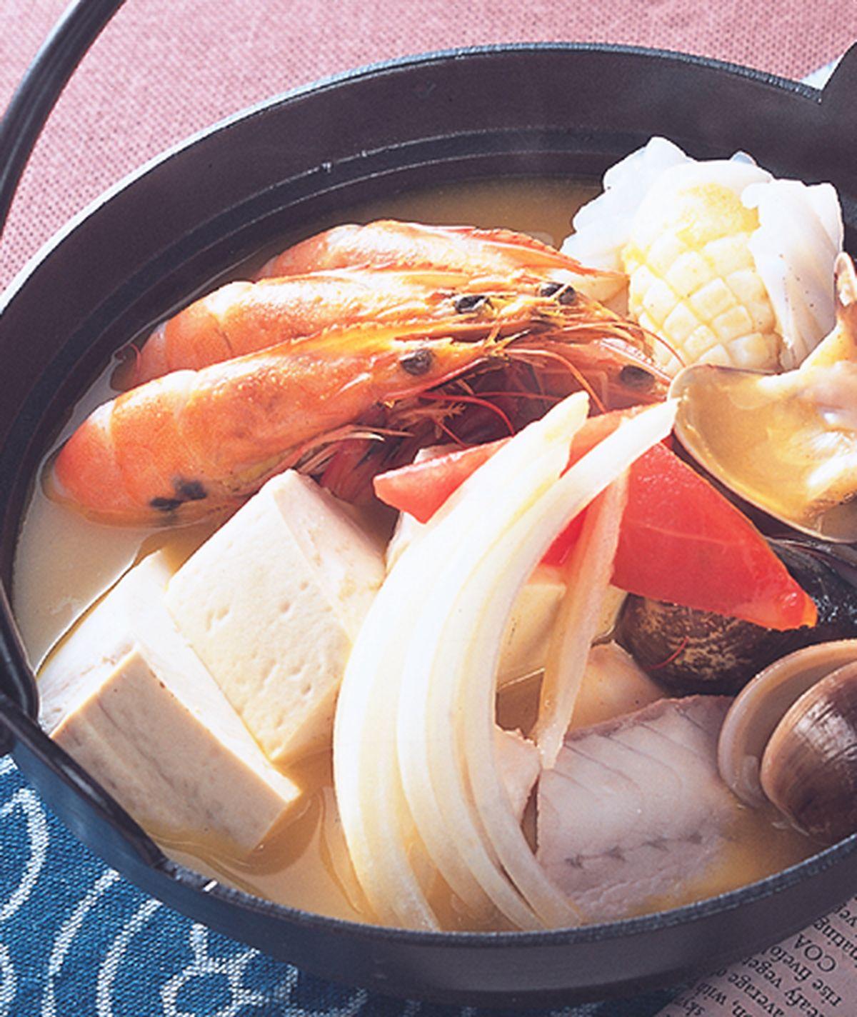 食譜:咖哩海鮮鍋(1)