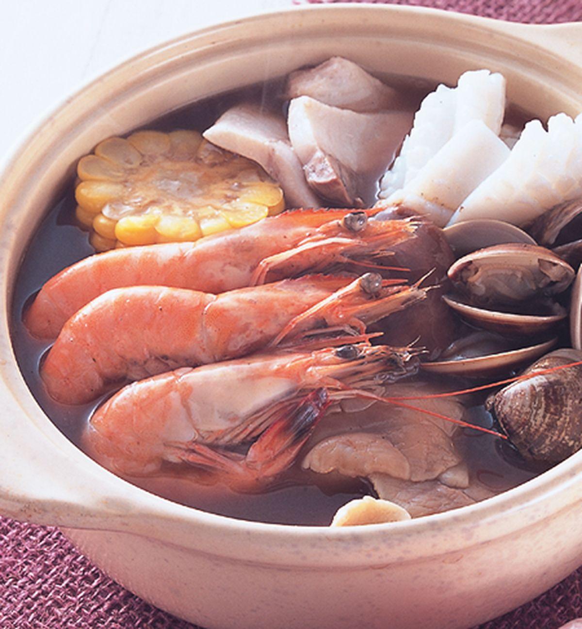 食譜:燒酒海鮮鍋