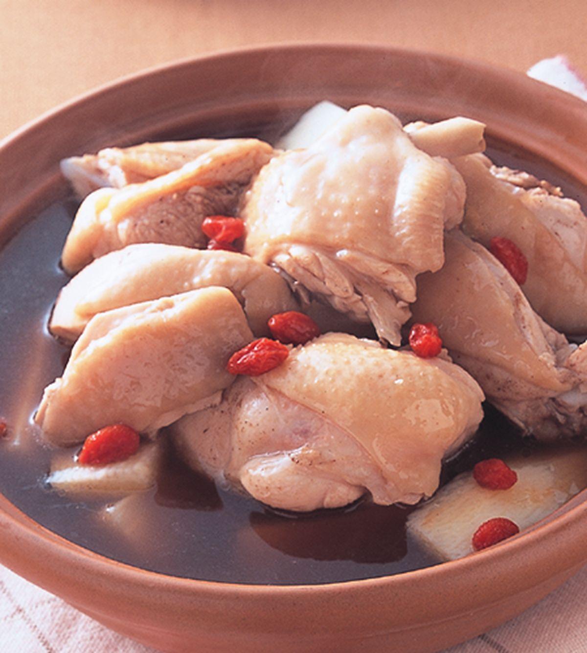 食譜:山藥枸杞雞鍋