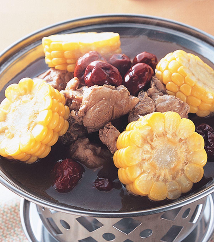 食譜:紅棗排骨鍋
