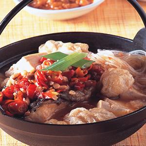 剁辣椒魚鍋