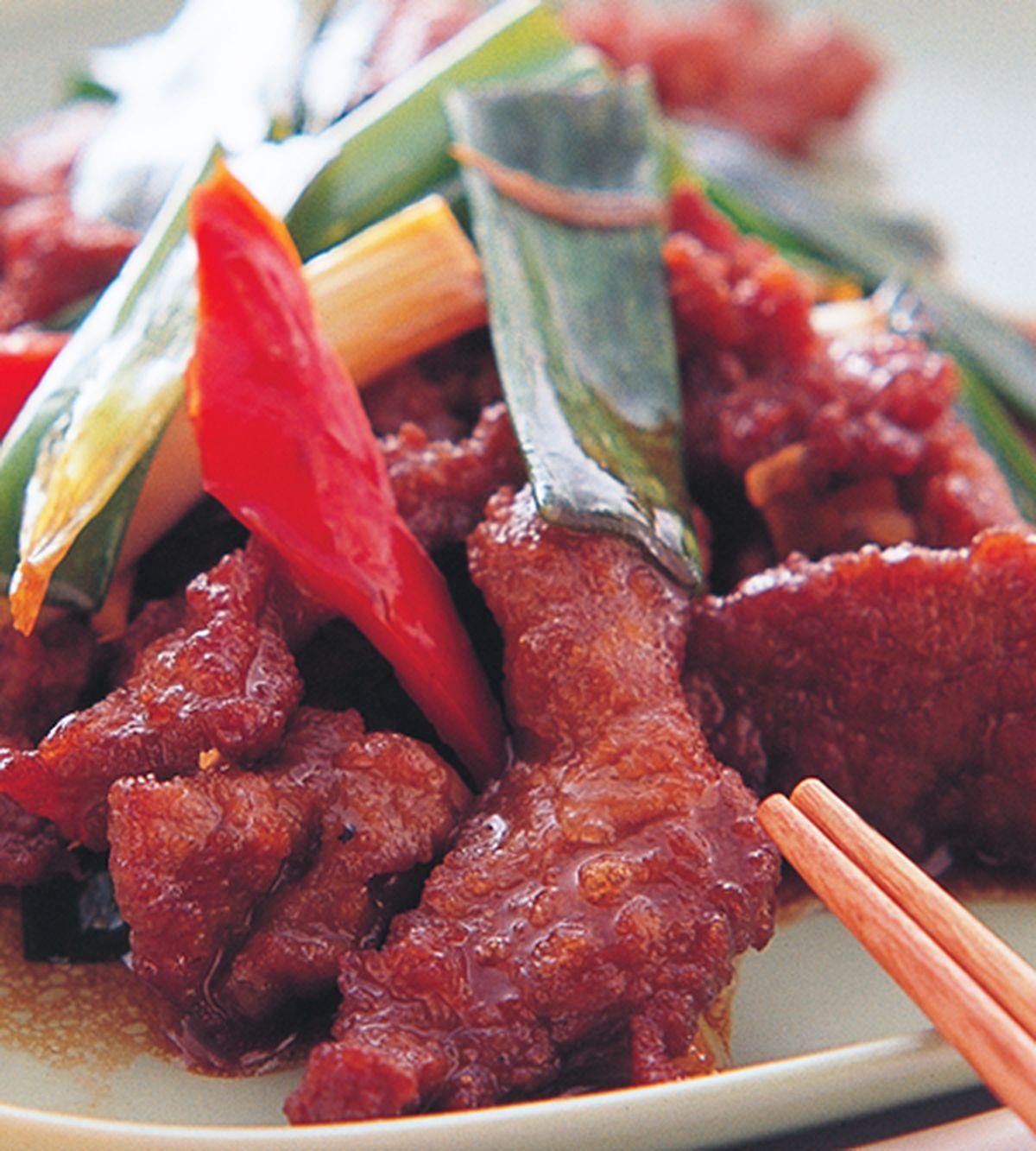 食譜:蔥爆牛肉(3)