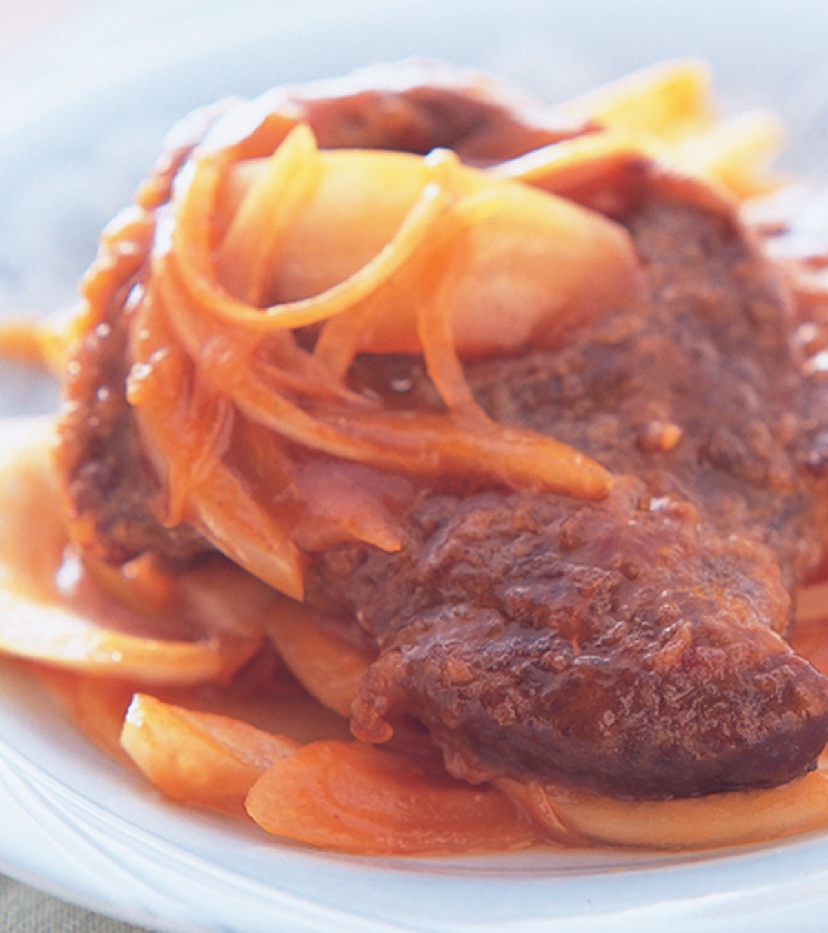 食譜:茄汁牛扒