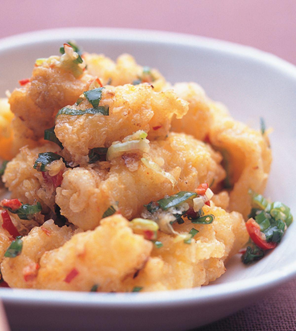 食譜:椒鹽鮮魷魚