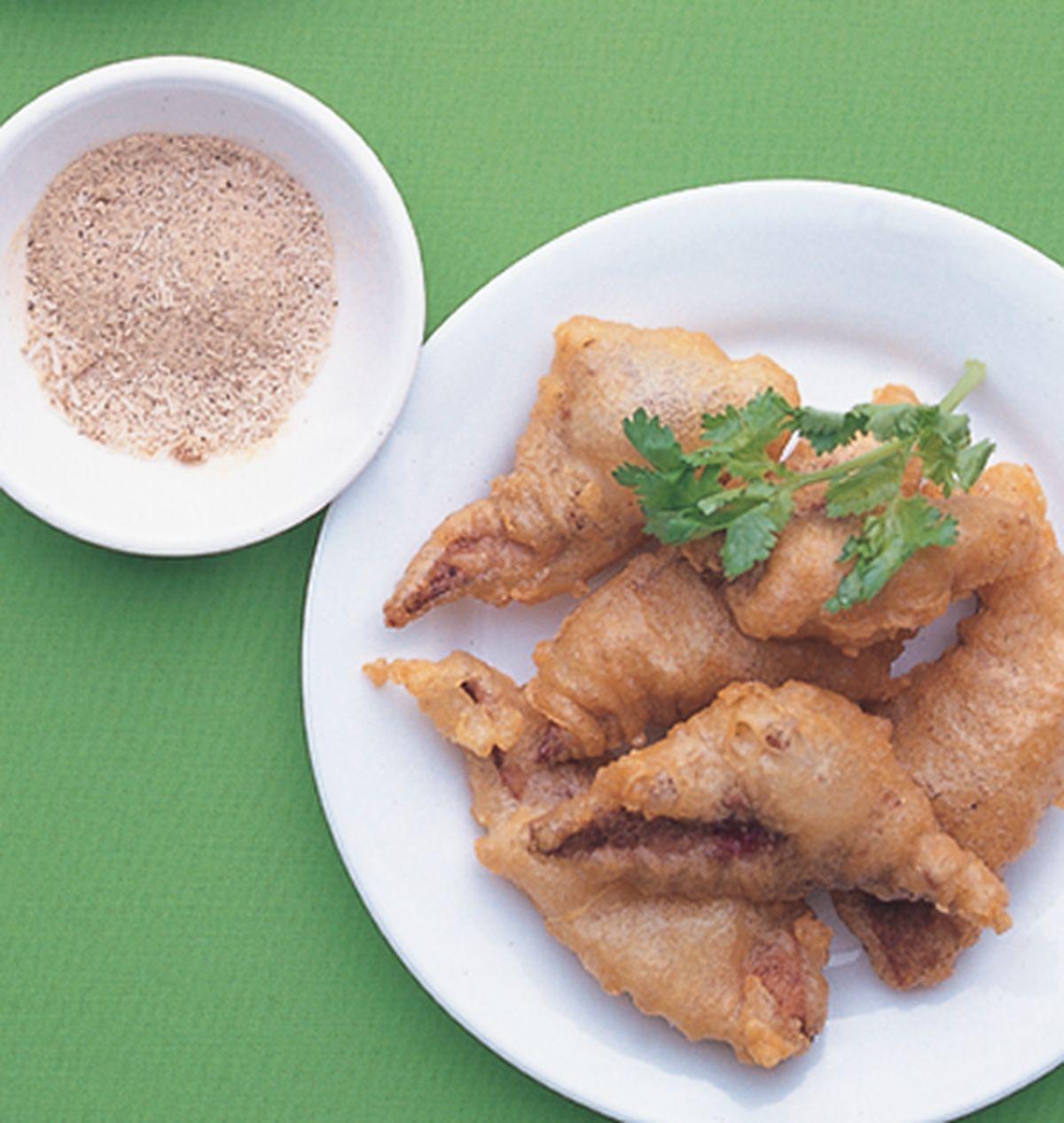 食譜:椒鹽豬肝