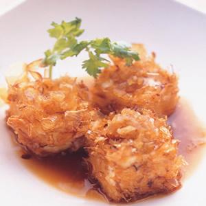 日式柴魚炸豆腐