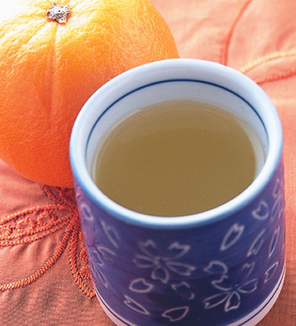 食譜:柳橙薑茶