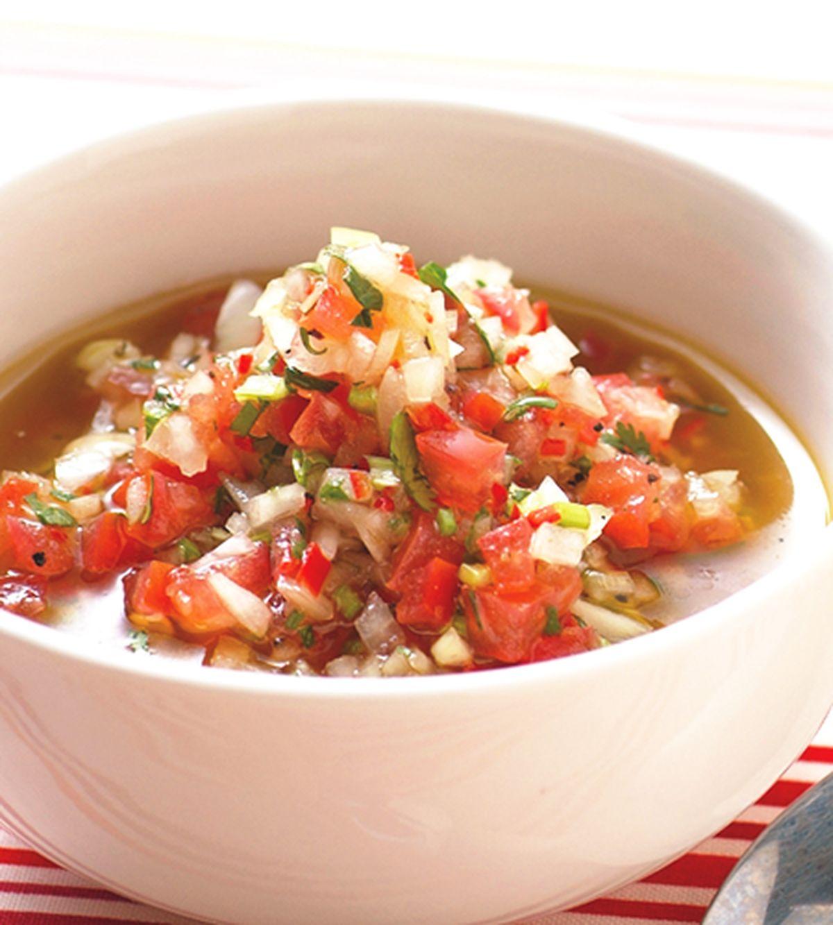 食譜:番茄莎莎醬