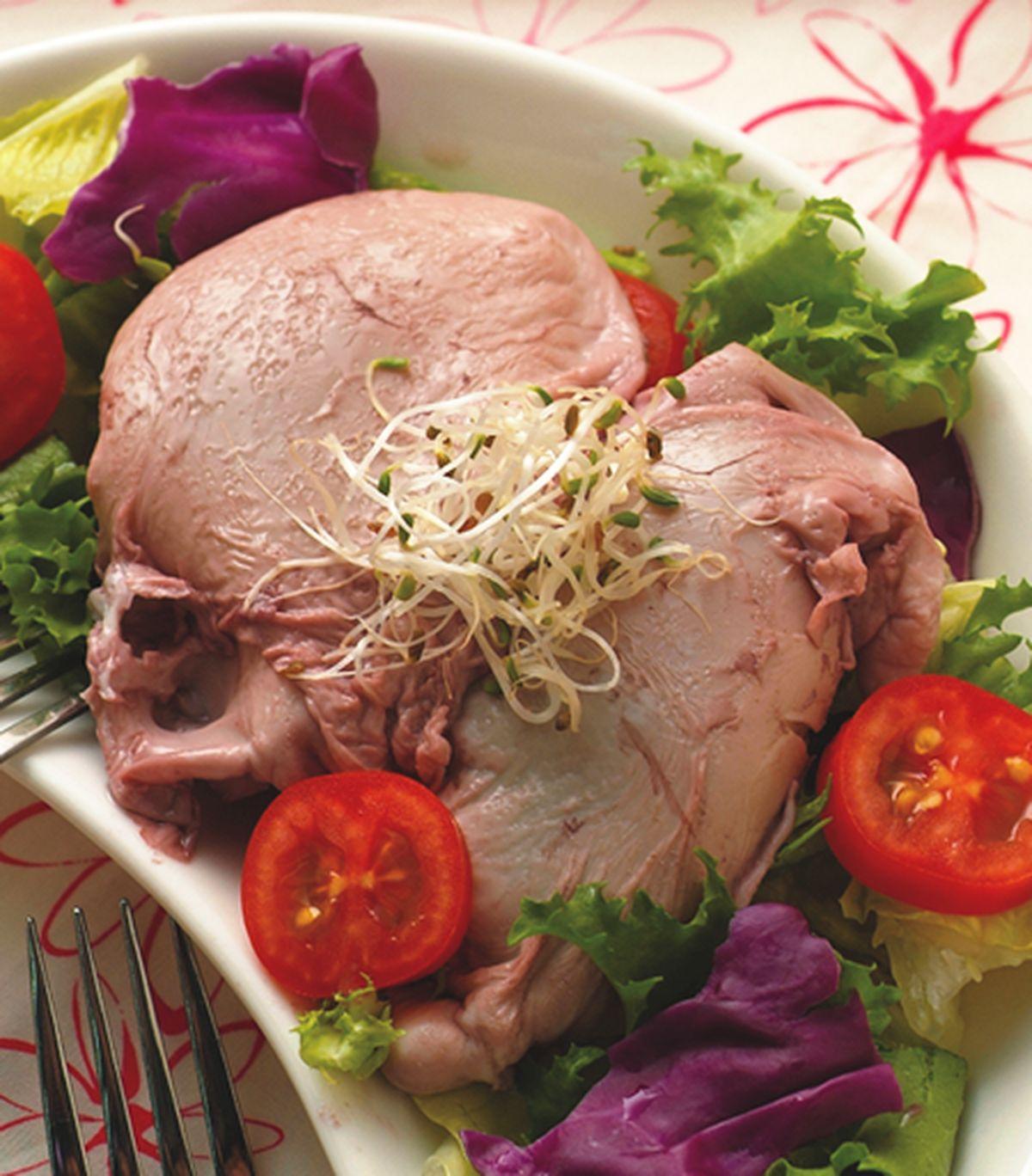 食譜:法式紅酒水波蛋沙拉