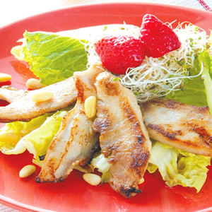 煎雞片松子沙拉